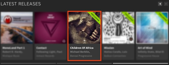 NICO PARISI – CHILDREN OF AFRICA FEATURED BY BEATPORT