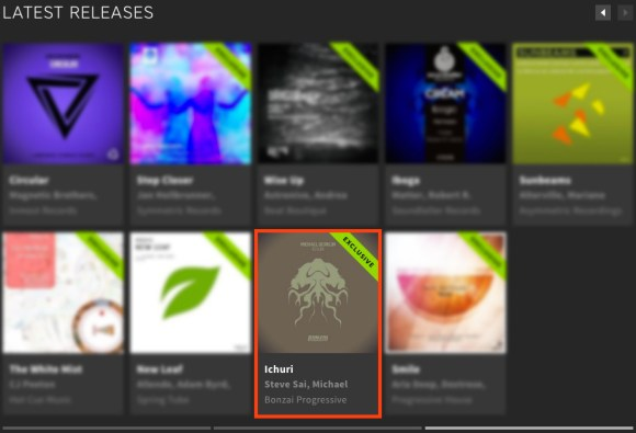 MICHAEL BERKLIN – ICHURI FEATURED BY BEATPORT