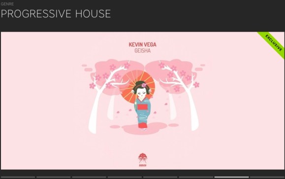 KEVIN VEGA – GEISHA FEATURED BY BEATPORT