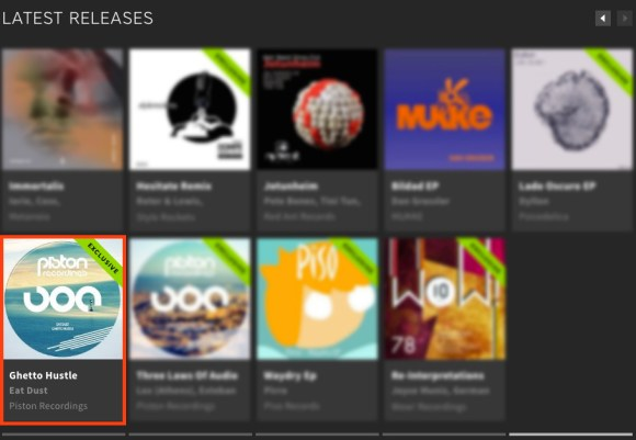 EAT DUST – GHETTO HUSTLE FEATURED BY BEATPORT