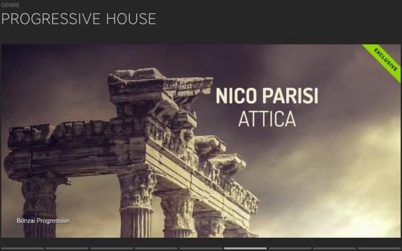 NICO PARISI – ATTICA FEATURED BY BEATPORT