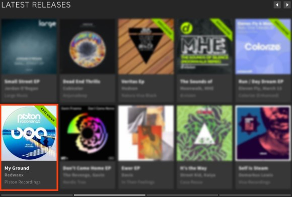 REDWAXX – MY GROUND FEATURED BY BEATPORT