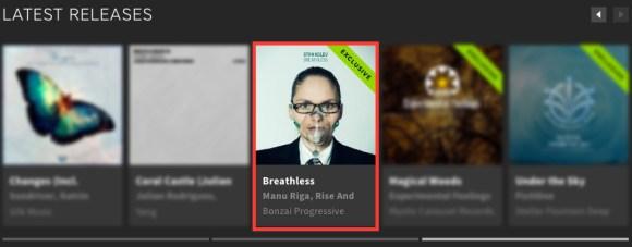 STAN KOLEV – BREATHLESS FEATURED BY BEATPORT
