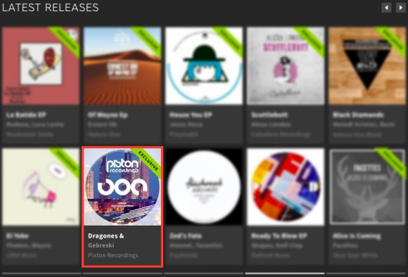 GEBRESKI – DRAGONES & SERPIENTES FEATURED BY BEATPORT