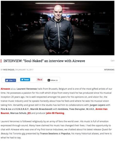 EDMTOR INTERVIEWS AIRWAVE
