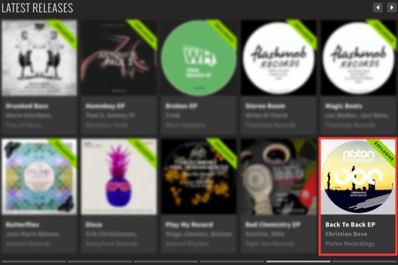 CHRISTIAN BOVE – BACK TO BACK EP FEATURED BY BEATPORT