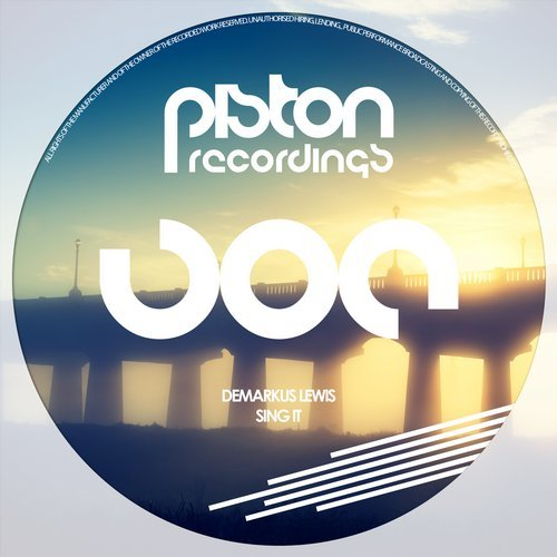 DEMARKUS LEWIS  – SING IT (PISTON RECORDINGS)
