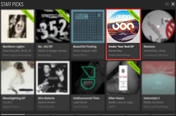 DANIEL RAY – UNDER YOUR BED EP FEATURED BY BEATPORT