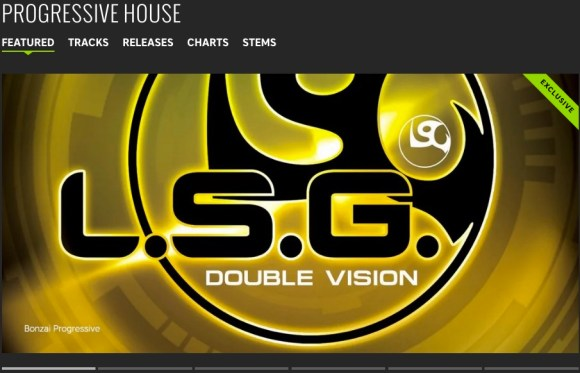 L.S.G. – DOUBLE VISION FEATURED BY BEATPORT