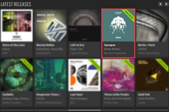 DYLAN DOWIE – SYNAPSE FEATURED BY BEATPORT