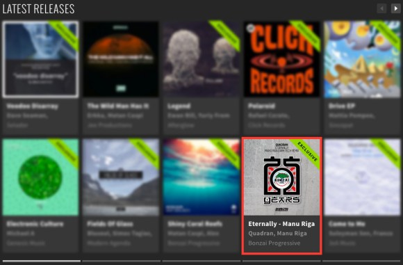QUADRAN – ETERNALLY – MANU RIGA DARK TECH REMIX FEATURED BY BEATPORT