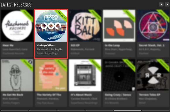 ALESSANDRO DE TUGLIE – VINTAGE VIBES FEATURED BY BEATPORT