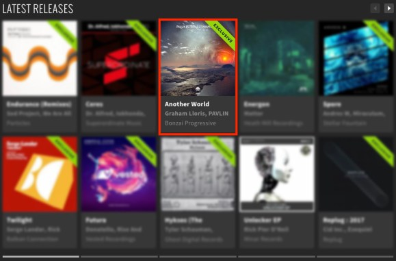 PAVLIN PETROV & GRAHAM LLORIS – ANOTHER WORLD FEATURED BY BEATPORT