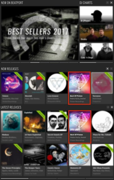 BEST OF PISTON RECORDINGS 2017 FEATURED BY BEATPORT