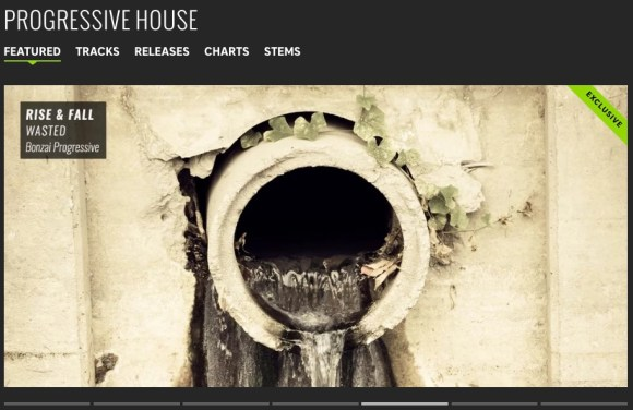 RISE AND FALL – WASTED FEATURED BY BEATPORT