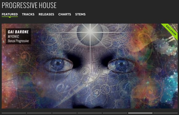 GAI BARONE – MYONIC FEATURED BY BEATPORT