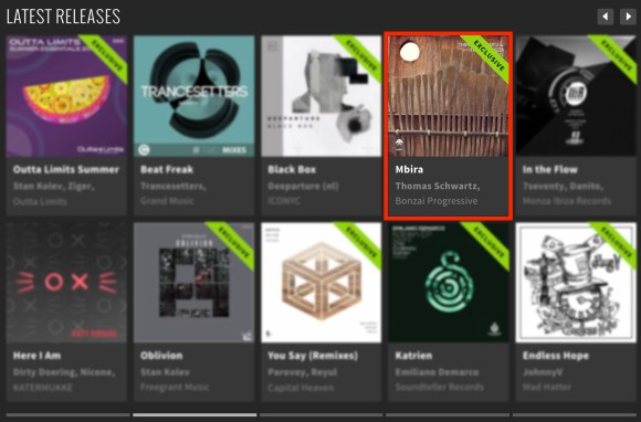 THOMAS SCHWARTZ & FAUSTO FANIZZA – MBIRA FEATURED BY BEATPORT