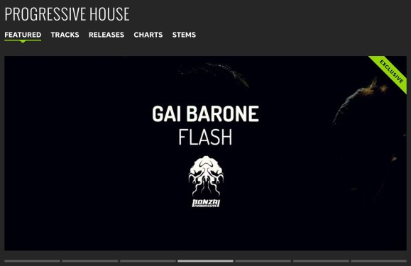 GAI BARONE – FLASH FEATURED BY BEATPORT