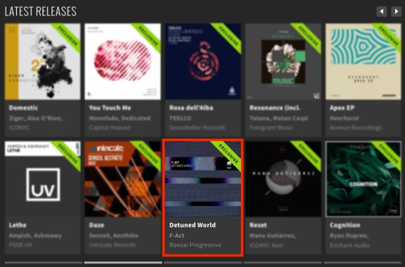 F-ACT – DETUNED WORLD FEATURED BY BEATPORT