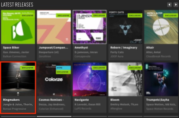 JUNGLE & JUICE – RINGMAKERS FEATURED BY BEATPORT