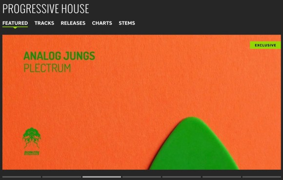 ANALOG JUNGS – PLECTRUM FEATURED BY BEATPORT