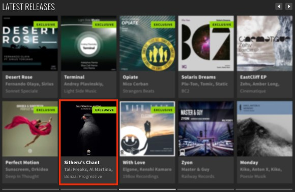 TALI FREAKS & AL MARTINO – SITHERU'S CHANT FEATURED BY BEATPORT