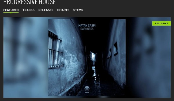 MATAN CASPI – DARKNESS FEATURED BY BEATPORT