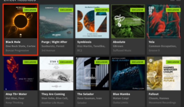 ONE ROCK STATE – BLACK HOLE FEATURED BY BEATPORT