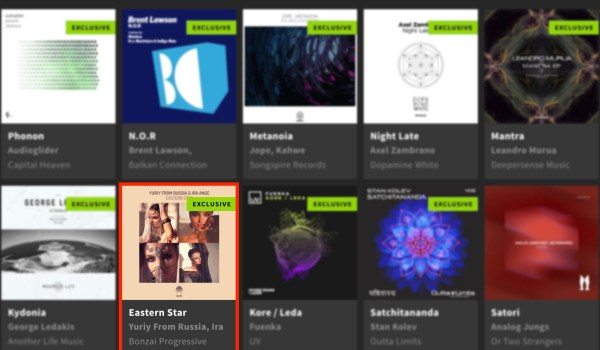 YURIY FROM RUSSIA & IRA ANGE – EASTERN STAR FEATURED BY BEATPORT