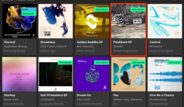 BLUFELD – FLASHBACK EP FEATURED BY BEATPORT
