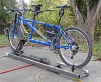 Roof Racks for Mountain Tandems / NO wheel removal ...