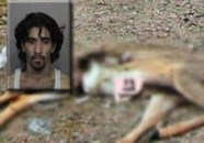 Bryan James Hathaway caught having sex with a dead deer.