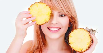 Radiant complexion with Pineapple