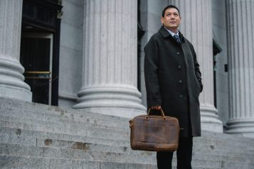 Business leather bags
