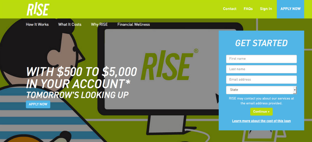 RISE CREDIT Payday Loans
