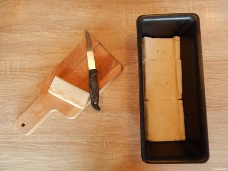 Croque Cake jambon et mozzarella