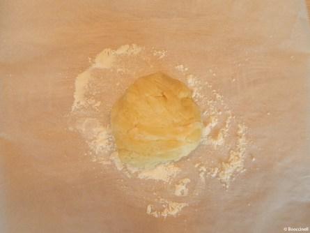 une tarte courgette