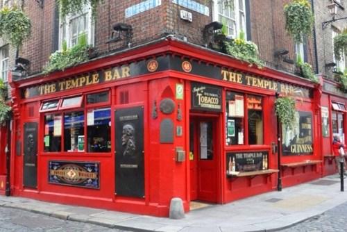 visiter Dublin en une journée The Temple Bar