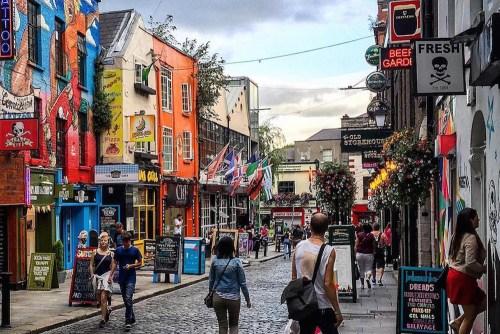 visiter Dublin en une journée Temple Bar