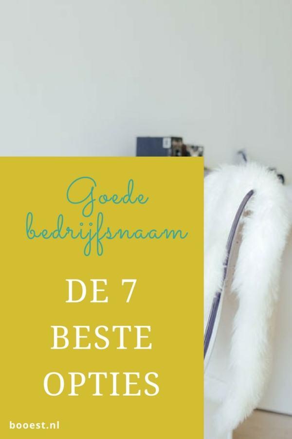 Een goede bedrijfsnaam, de 7 beste opties http://booest.nl/een-goede-bedrijfsnaam-de-7-beste-opties-2/
