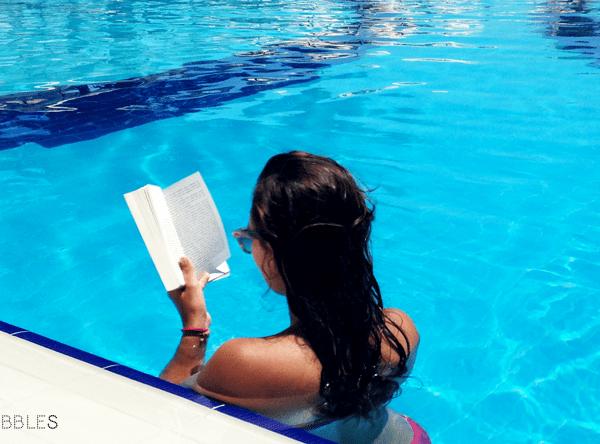 lezen op vakantie