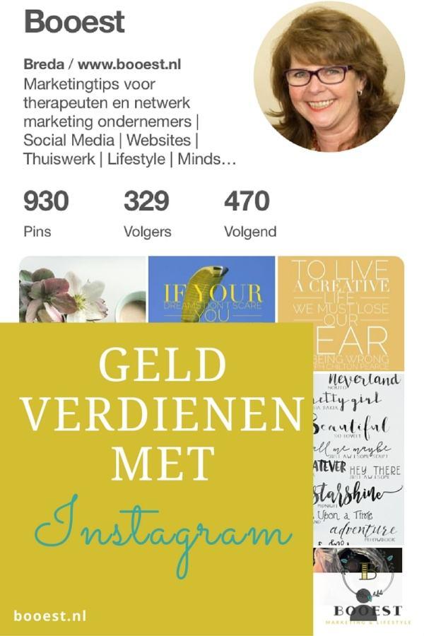 Geld verdienen met instagram www.www.booest.nl/geld-verdienen-met-instagram
