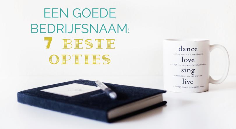 een goede bedrijfsnaam kiezen Booest.nl