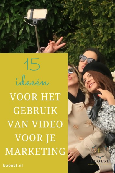 15 ideeën voor het gebruik van video in je social media marketing (incl. video)