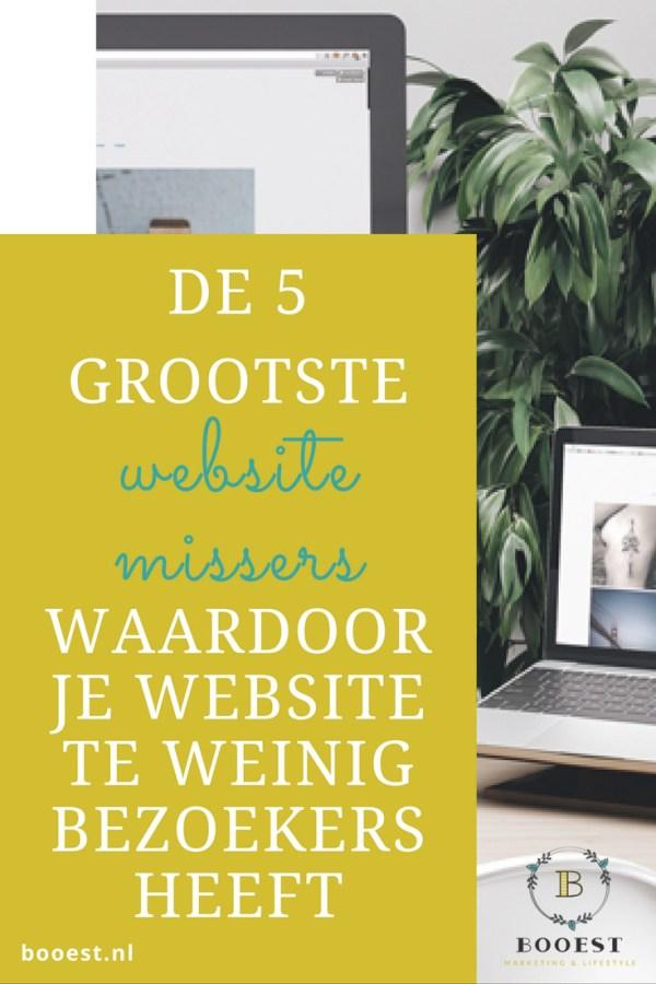 5 grootste website missers www.www.booest.nl/de-5-grootste-website-missers
