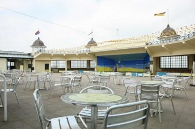 Makcaris Bandstand. Herne Bay, Kent.