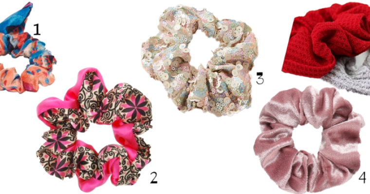 Monday Loving: 90s Style Hair Scrunchies