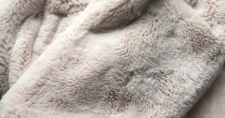 Restoring My Anthropologie Sophie Faux Fur Blanket to Like New Condition