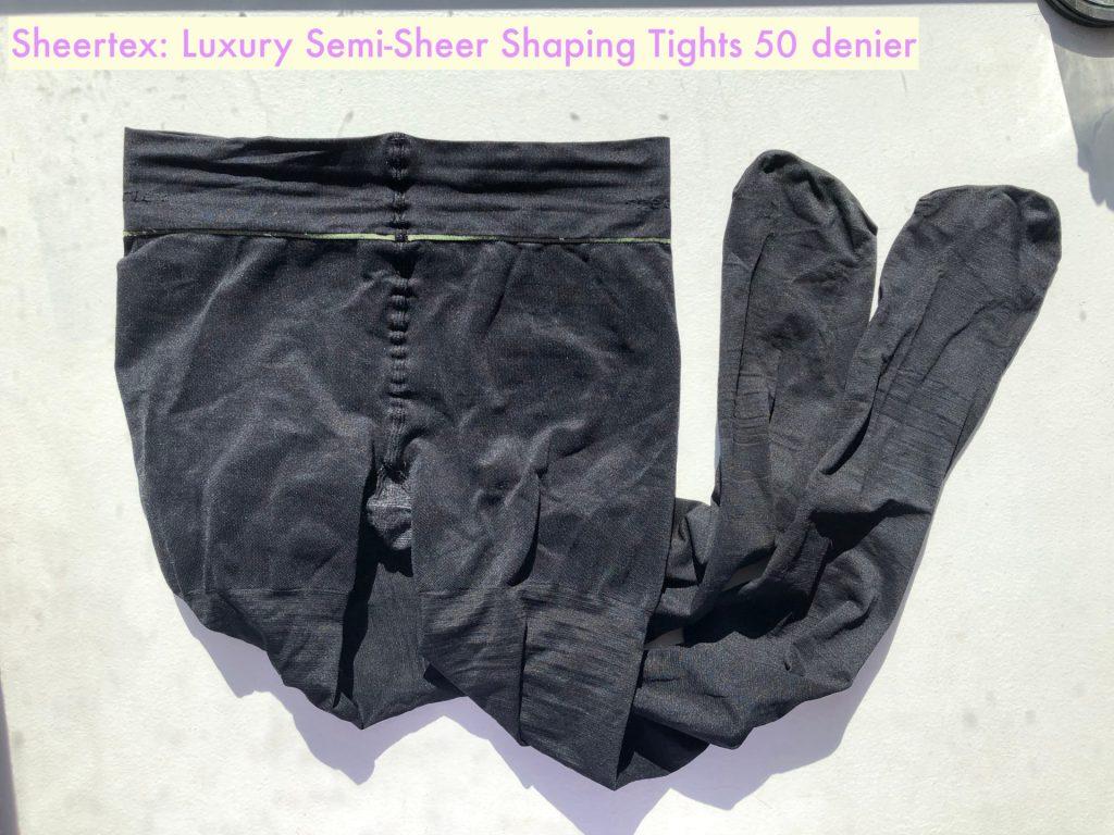 Sheertex Luxury semi-sheer shaping tights