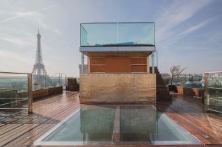Les 9 plus belles terrasses dappartements parisiens  Photoreportage